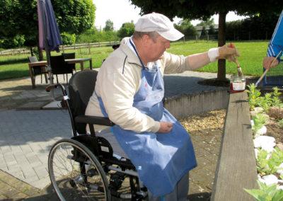 Lebenshilfe Osterburg Foerdergruppe Gartenarbeit